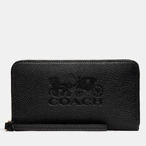 New💃Coach Jes Large Phone Wallet/Wristlet